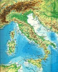Cartina Italia Monti E Fiumi.Le Carte In Base Ai Contenuti Imparo