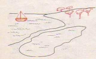 Laghi del mondo for Lago disegno