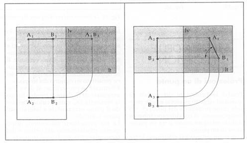 su un piano perpendicolare al p v e inclinato rispetto al p o e al p l ...