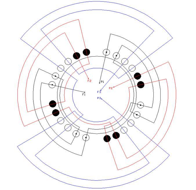 Schemi Avvolgimenti Motori Elettrici : Schema avvolgimento motore elettrico funzionamento
