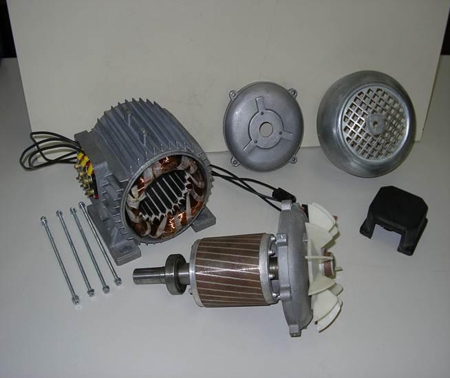 Schema Elettrico Motore Trifase 2 Velocità : Motore asincrono trifase