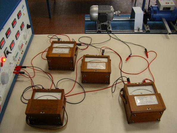 Schema elettrico prova a vuoto mat