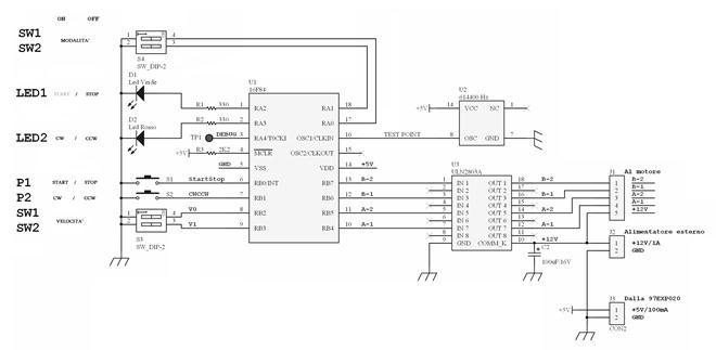 Schemi Elettrici Lavatrici : Schema collegamento motore lavatrice a spazzole