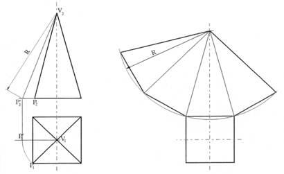Sviluppi di solidi nel disegno tecnico for Disegno del piano di costruzione