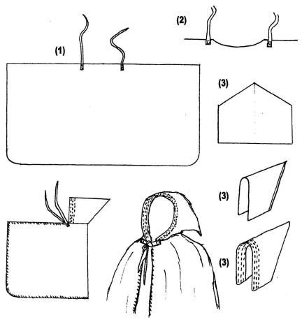 Come realizzare un mantello con cappuccio