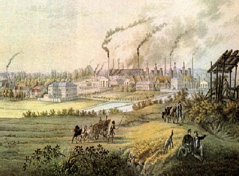 Rivoluzione industriale for Nuovo design del paesaggio inghilterra