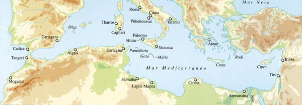 Cartina Geografica Dei Fenici.Fenici In Italia Storia E Riassunto